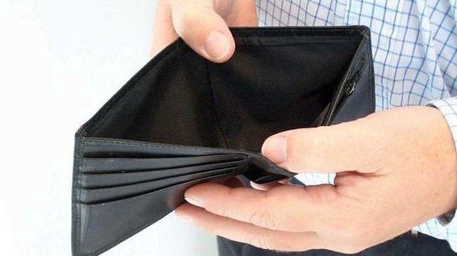 порожній гаманець терміново потрібні гроші
